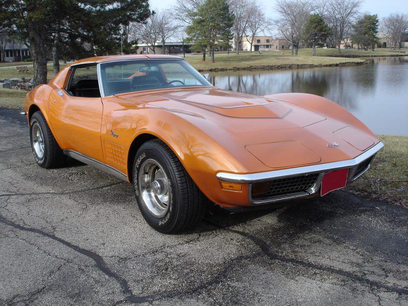 1972 Chevrolet Corvette Lt 1 Coupe