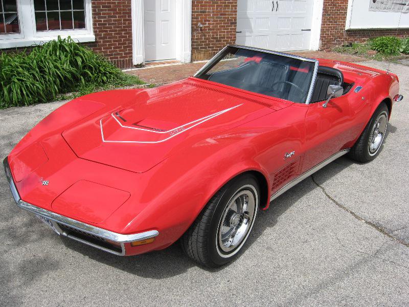1972 Chevrolet Corvette Lt 1 Convertible