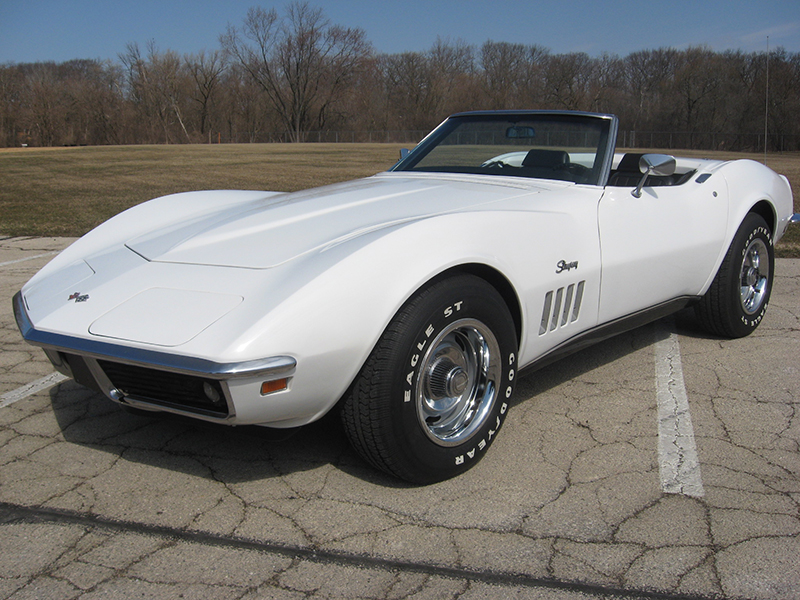 Can Am Car >> 1969 Stingray Corvette Convertible