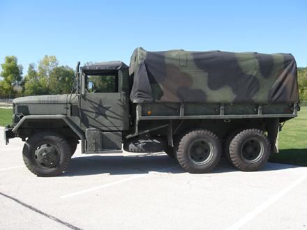 Diesel >> 1971 Military Transport Cargo Truck