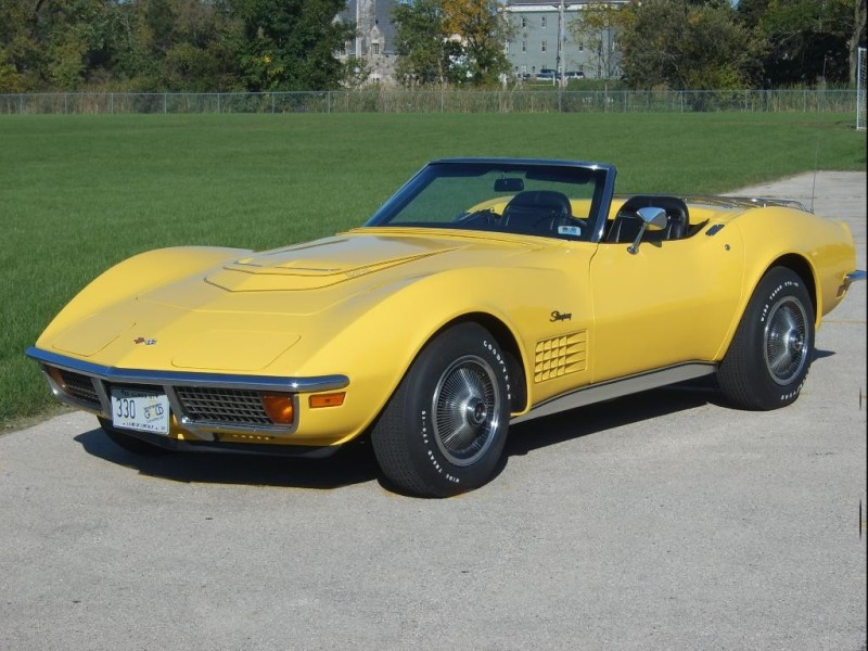 1969 Corvette Stingray >> 1972 Corvette Convertible